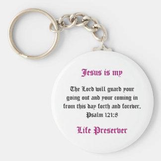Jesus is my Life Preserver Key Chain