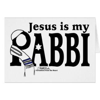 Jesus is my RABBI Card