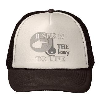 JESUS IS THE KEY TO LIFE CAP