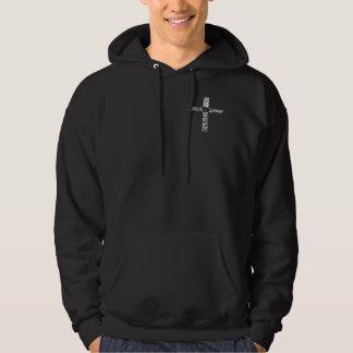 Jesus Love Peace Music Hoodie