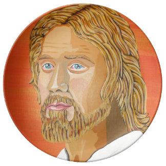 Jesus the carpenter porcelain plates