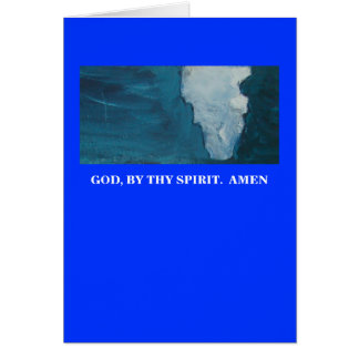 JESUS TOUCHED THEM GREETING CARD