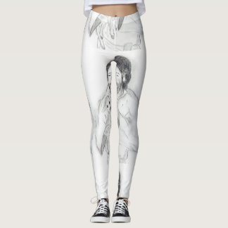 Jesus With Lamb Leggings