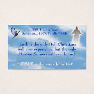 17 free christian or business cards and free christian or business jesus witnessing business card wajeb Image collections
