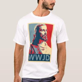 Jesus -- WWJD T-Shirt