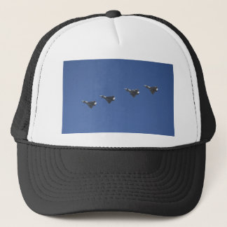 jet formation trucker hat