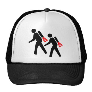 Jet Pack Hikers of the Future Cap