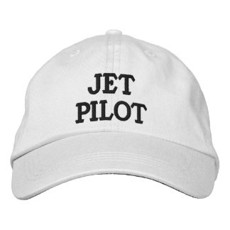 JET PILOT Personalized Adjustable Hat Embroidered Cap