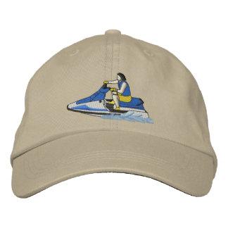 Jet Skier (sitting) Embroidered Cap