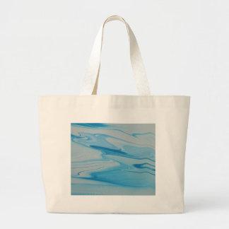 Jet Stream Large Tote Bag