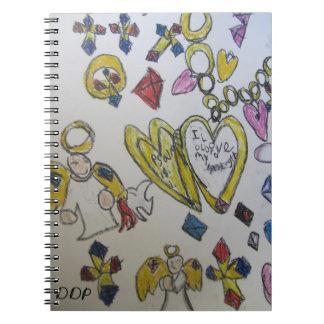 Jewel bible verses notebook