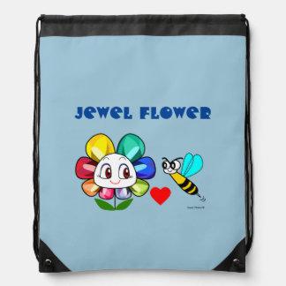 Jewel Flower Backpack