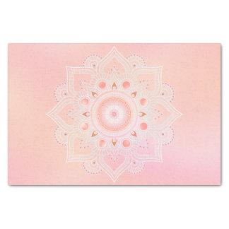 Jewel Mandala Coral ID484 Tissue Paper