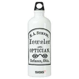 Jeweler & Optician Advert Water Bottle