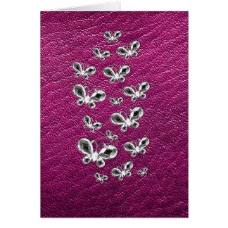 Jewell Butterflies Note Card