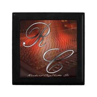 "Jewelry box Small 5.125"" Square w/4.25"" Tile"