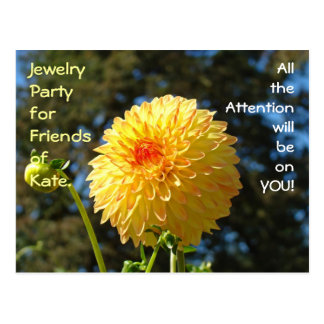Jewelry Party Friends of Kate (Your Name) custom Postcard
