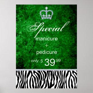 Jewelry Sale Crown Salon Zebra Saint Patrick's Print