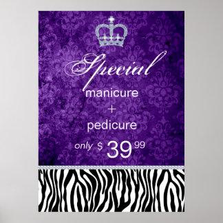 Jewelry Sale Crown Salon Zebra Valentine's Print