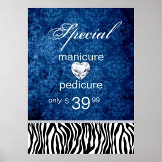 Jewelry Sale Damask Salon Zebra Valentine's Print