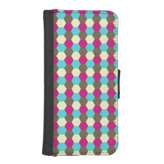 Jeweltone Honeycomb iPhone SE/5/5s Wallet Case