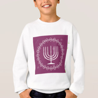 jewish-menorah-holiday-vector-background-27207795. sweatshirt