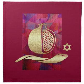 Jewish New Year | Rosh Hashanah Challah Cover Napkin