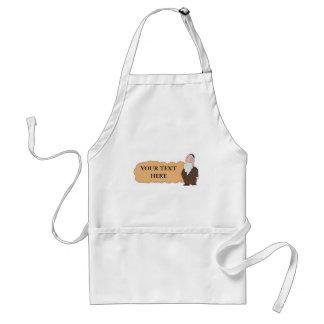 Jewish rabbi custumizable apron