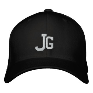 JG EMBROIDERED HATS