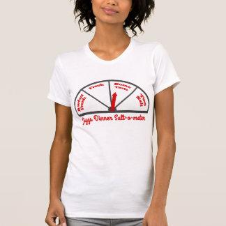 Jiggs Dinner Salt-O-Meter T Shirts