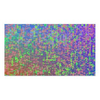 Jigsaw Chaos Abstract Pack Of Standard Business Cards