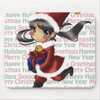 Jingle Belle Merry Mousepad