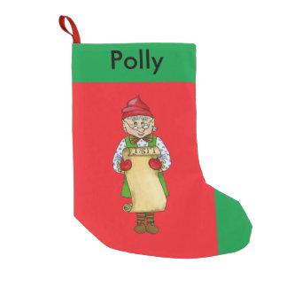 "Jingle Elves, ""Alfred"" Christmas Stocking"