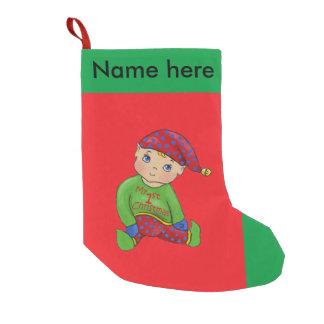"""Jingle Elves, """"ItsyBitsy"""" Christmas Stocking"""