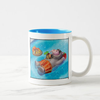 Jingle Jingle Little Gnome Happy Hippo Mug