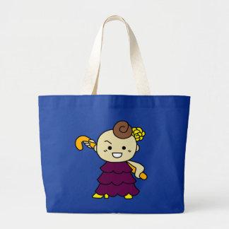 jiyanbototo stick child purple large tote bag