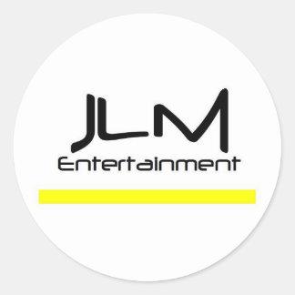 JLM Entertainment, LLC Classic Round Sticker