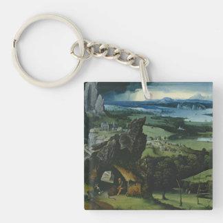 Joachim Patinir Art Key Ring