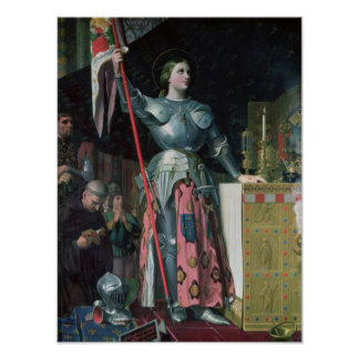 Joan of Arc  at the Coronation of King Charles Poster