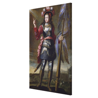 Joan of Arc  Before Orleans Canvas Print