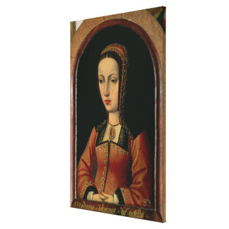 Joanna or Juana `The Mad' of Castile Canvas Print