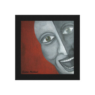 Jocker Fine art painting Gallery Wrapped Canvas