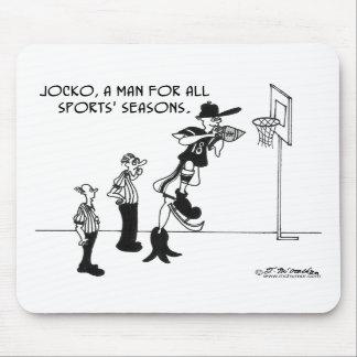 Jocko, A Man For All Sports' Seasons. Mousepads
