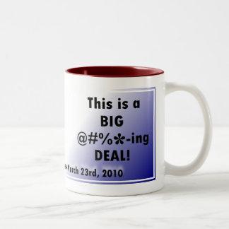 Joe Biden Big Deal Two-Tone Mug