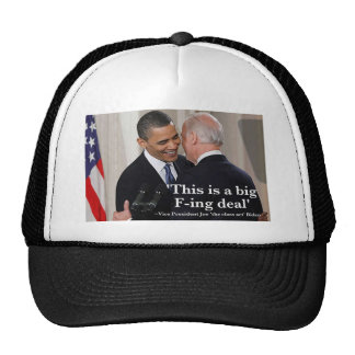 Joe Biden 'This is a big f-ing deal' Hat