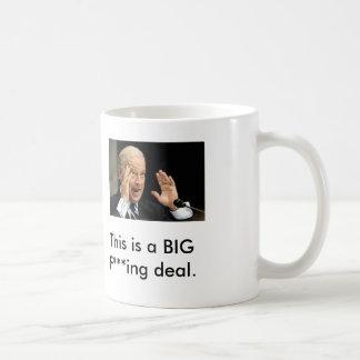 joe biden, This is a BIG F***ing deal. Coffee Mug