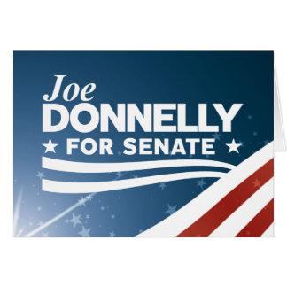 Joe Donnelly for Senate Card