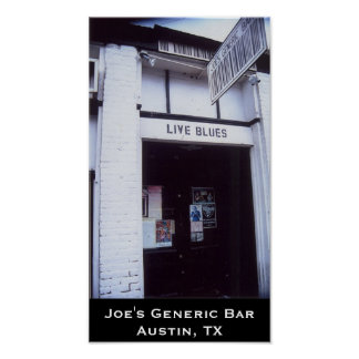 Joe's Generic Bar poster