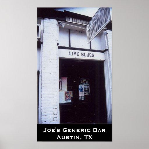 Joe's Generic Bar poster
