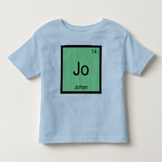 Johan  Name Chemistry Element Periodic Table Toddler T-Shirt
